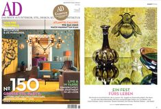 Journal Post - Architectural Digest Germany June 2014.