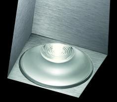 nado S . outside luminaire . Außenleuchte . ceiling luminaire. Deckenleuchte . aluminium brushed, anodized . Aluminium gebürstet, eloxiert . LED