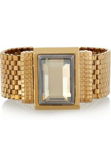 Lanvin Swarovski Crystal Bracelet