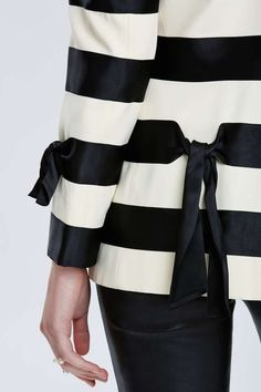 Vintage Moschino Stripe Blazer