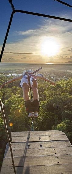 Bungee jumping in Australia! Who among you want to try this? Or already tried this? :))  http://www.wellsome.com/travel/my-healthy-bali-holiday/  #itstraveltime #meontheroad #awesomewellsome