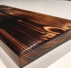 Reclaimed wood shelves / shou sugi ban by OmniaRedivivusLtd