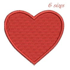 Heart embroidery machine designs,wedding pattern,heart,merried by WeddingdesignStore on Etsy