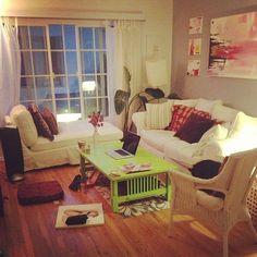 apartment living room. cozy small spaces