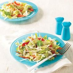 Add some crunch to your lunch with this crisp and refreshing celery salad with fennel and red bell pepper.