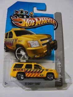 Hot Wheels HW City '07 Chevy Tahoe 13/250 by Hot Wheels. $0.75. 07 Chevy Tahoe