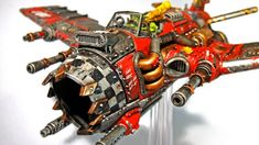 Ork Dakkajet - Forum - DakkaDakka | Don't bother, we've got a Holo-field.