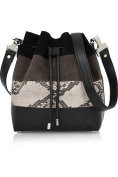 Proenza Schouler bucket bag (for more bucket bags -- http://chicityfashion.com/bucket-bags/)