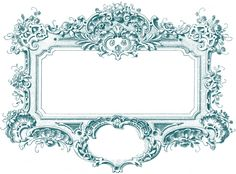 Blue Gorgeous Baroque Frame Images - The Graphics Fairy  1,800px × 1,331px (scaled to 857px × 634px)