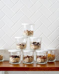 How To Make DIY Instant Oatmeal Cups — Cooking Lessons from The Kitchn #recipes #food #kitchen