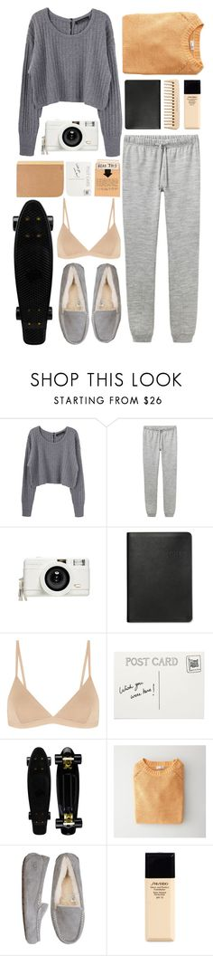 """Saturday"" by freyaac ❤ liked on Polyvore featuring Proenza Schouler, A.P.C., Lomography, Graphic Image, The Body Shop, Base Range, Club Monaco, Steven Alan, UGG Australia and Shiseido"