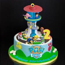 Image result for paw patrol tower cake