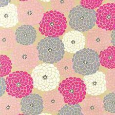 Robert Kaufman - Reverie Garden Petal Packed Flowers