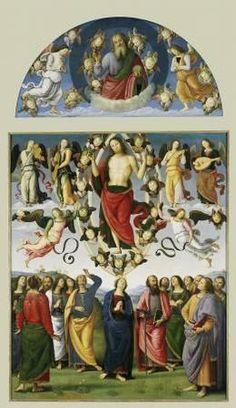 Pérugin,  L'Ascension du Christ, 1495-98, Musée des Beaux Arts de Lyon