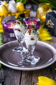 6 recept på mingelmat till påsk - Landleys Kök Tiny Food, Christmas Tea, Lchf, Finger Foods, Panna Cotta, Food And Drink, Snacks, Ethnic Recipes, Easter Ideas