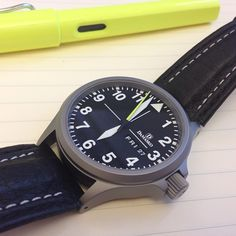Used Damasko DA36 looking like new. That's the ice hardened nickel free stainless steel. #watches #watchporn