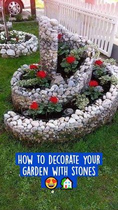 Garden Yard Ideas, Diy Garden, Garden Projects, Garden Art, Backyard Ideas, Backyard Plants, Backyard Patio, Patio Ideas, Outdoor Ideas