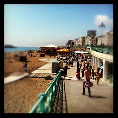 Brighton on a sunny day..