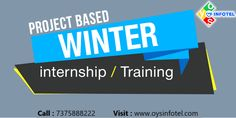Want to do winter internship and industrial training in Web development, Android App development, Digital Marketing join us and make & grow your career in the IT industry. Call : 7375888222