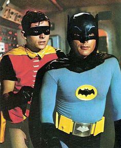 Adam West and Burt Ward starred as Batman and Robin in the campy TV series 'Batman'. It aired on ABC for three seasons from January 1966 to March The show was aired twice weekly for its first two seasons, resulting in the production of 120 episodes. Batman Tv Show, Batman Tv Series, Adam West, Batman 1966, Batman Robin, Batman Batman, Real Batman, Batman Arkham, Mejores Series Tv