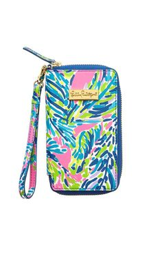 Tiki Palm iPhone 6 Wristlet - Lilly Pulitzer Multi Palm Reader Accessories Small