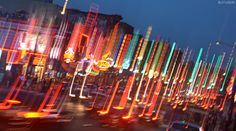 Broadway at Night - Nashville, Tennessee | We Think Therefore We Create
