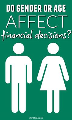 Do age or gender affect financial behaviour? I've recently discussed it at the…