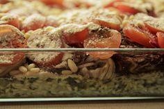 Ofenrisotto mit Radicchio und Tomaten Risotto, One Pot, Cereal, Breakfast, Blog, Tomatoes, Viajes, Kochen, Rezepte
