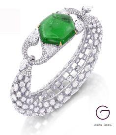 Glenn-Spiro-Emerald-Cuff