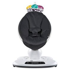 product image for 4moms® mamaRoo® 4 Classic Infant Seat in Black