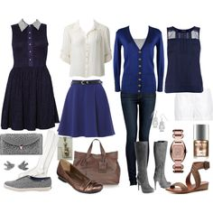 """""""Weekends in Hogsmeade: Ravenclaw"""" by allij28 on Polyvore"""