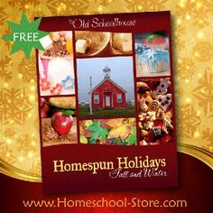 Free Homespun Holidays: Fall & Winter eBook from sponsor @educents