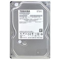 Toshiba DT01ACA100 Disque dur interne 32 MO 3,5 SATA III 7200 tours//min 1 To