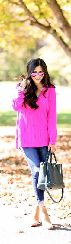 Fall Brights / Fashion By The Sweetest Thing