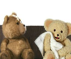 Snuggles is too good for you Ted! Cute Images, Funny Images, Funny Pictures, Funny Pics, Funny Jokes, Snuggle Bear, Ted Bear, Funny Bears, Bear Pictures