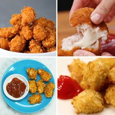 Chicken Nuggets 4 Ways by Tasty