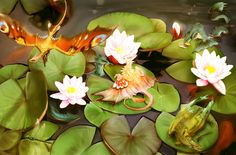 Lotus Pond Gathering by Blue-Hearts on DeviantArt