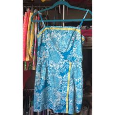 Lilly Pulitzer Dress/skort. I'm not really sure what this style is called. It's a dress but made with shorts as pictured. Very excellent condition, never worn! Lilly Pulitzer Dresses