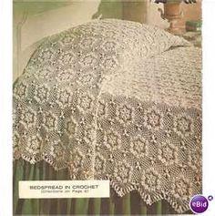 Pineapple frosting bedspread vintage crochet pattern 0050 750 crochet bedspread pattern bedspread in crochet 4 on ebid united dt1010fo