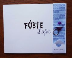 printed version of book Fóbie Light