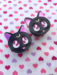 PRE-ORDER Sailor Moon Luna Plugs- 8mm-22mm by GeekyWears on Etsy https://www.etsy.com/ca/listing/253515240/pre-order-sailor-moon-luna-plugs-8mm