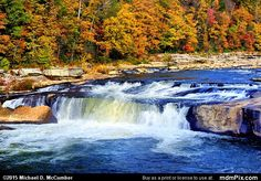 Ohiopyle Falls Picture 021 - October 22, 2015 from Ohiopyle State Park, Pennsylvania Picture