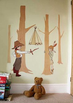 12 best the boys cowboy and indian room images child room indian rh pinterest com