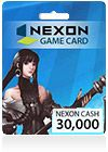Nx Cash Card, Nexon Cash Europe