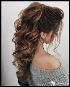 DIY Ponytail Ideas You're Totally Going to Want to 2019 Formal Ponytail Hairstyle; Easy Winter Hairstyles, Daily Hairstyles, Face Shape Hairstyles, Ponytail Hairstyles, Bride Hairstyles, Down Hairstyles, Hairstyle Ideas, Hairstyle Wedding, Dress Hairstyles