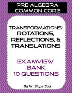 Exam guide general knowledge in sinhala general knowledge past transformations reflections rotations translations geometry bank for examview fandeluxe Gallery