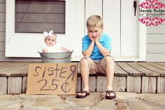 Siblings-kids photography how funny is this - so cute
