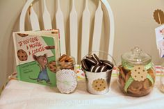 "Cup of Delight: ""If You Give a Mouse a Cookie"" Party {Festive Delights}"