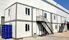 Prefabricated sheds offer a major cost saving advantage over the construction of new buildings. Prefabricated Sheds, Metal Buildings, Office Buildings, Gambrel, Heavy Machinery, Cost Saving, Shed Plans, Make Design, The Expanse