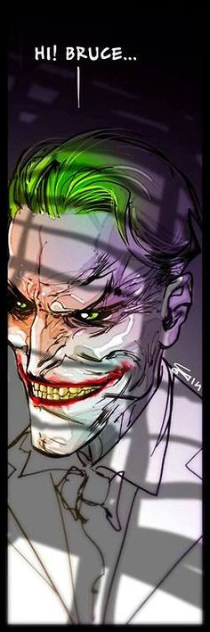 The Joker by Carmine Di Giandomenico *
